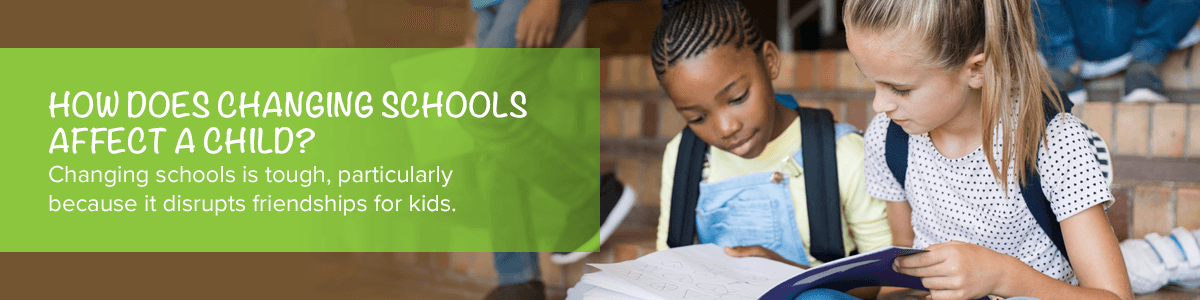 How Does Changing Schools Affect A Child?
