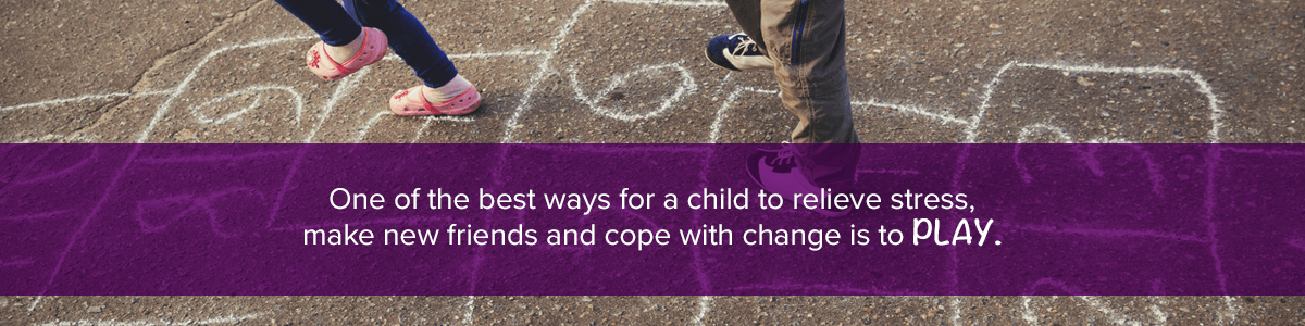 Children Relieve Stress By Playing
