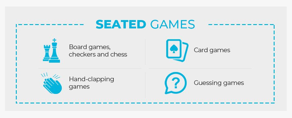 Seated Games For Indoor Recess