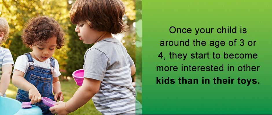 Kids At 3 Or 4 Are Interested In Other Kids