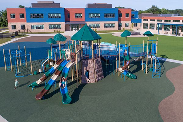 Elementary School Playground Equipment