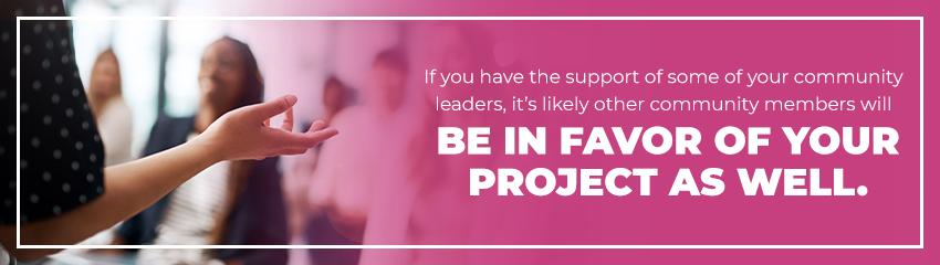 Favor Your Community Project