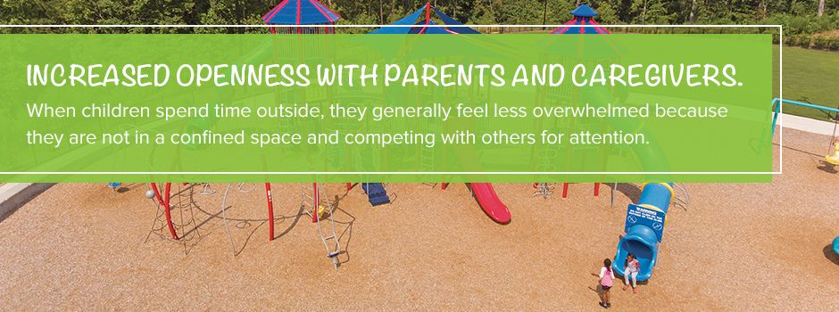 Increased Openness With Parents And Caregivers