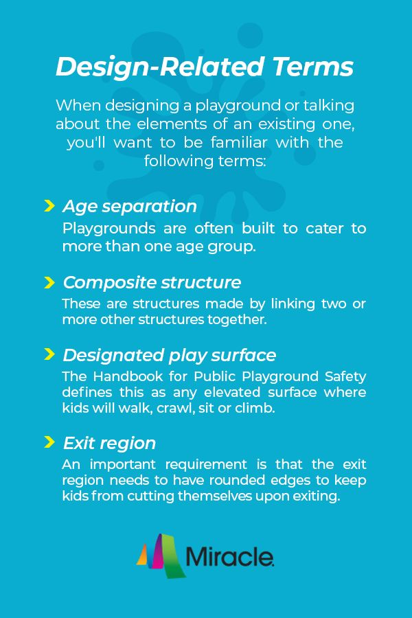 Playground Design Terms