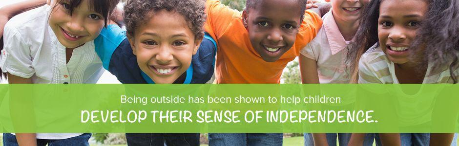 Children Develop Sense Of Independence