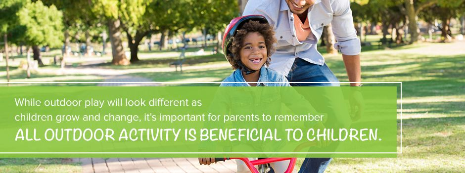 Outdoor Play Is Beneficial To Children