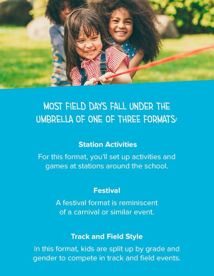 Field Day Formats