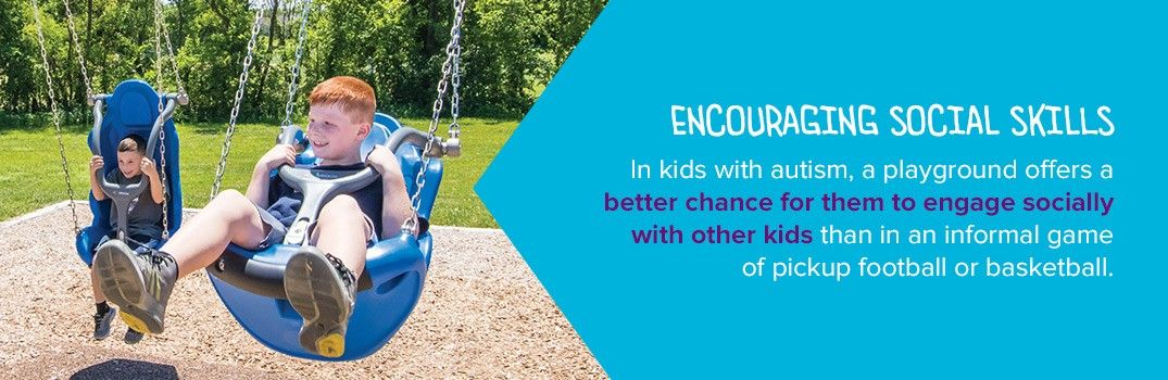 Playgrounds For Children With Autism