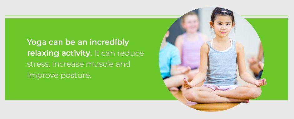 Classroom Yoga Reduces Stress
