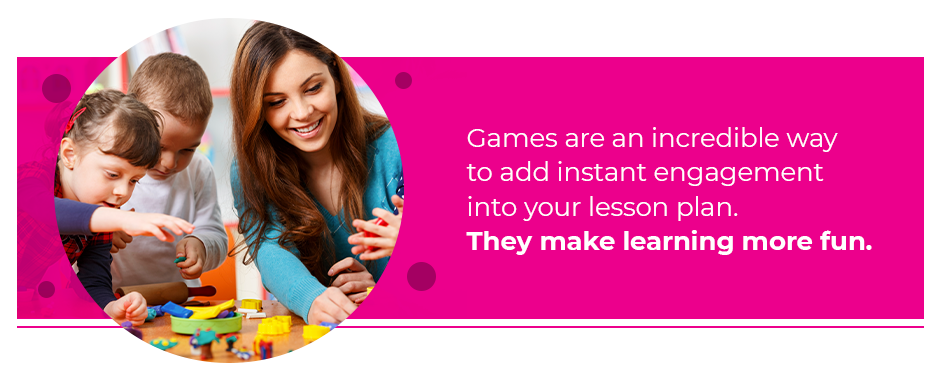 Games Make Learning More Fun
