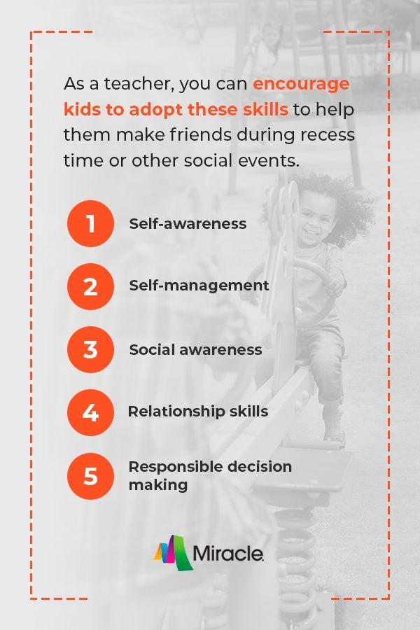 Skills to Help Children Make Friends