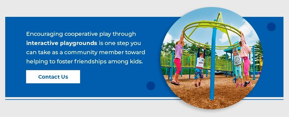 Encourage Cooperative Play Through Interactive Playgrounds