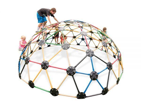 13' Geodesic Playground Climber