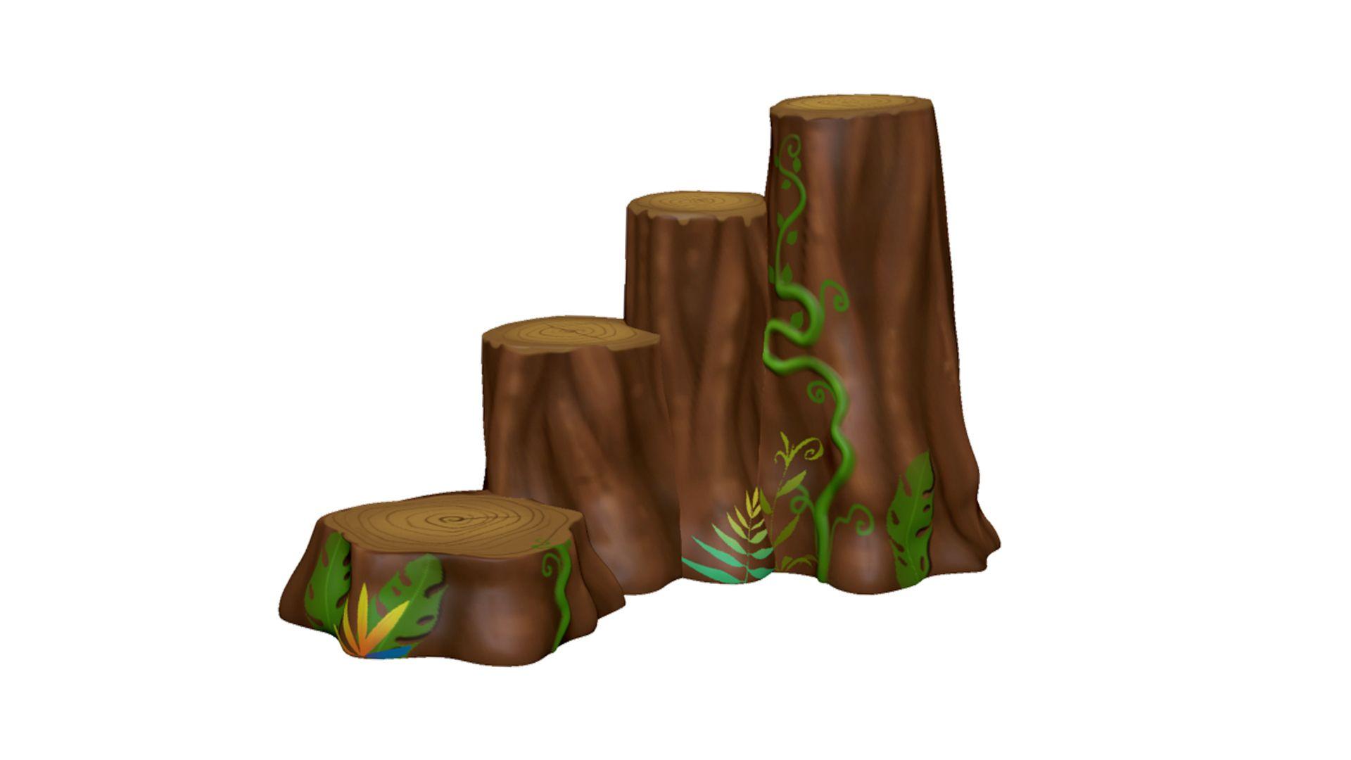 Log Steps Climber (MRTP2143M)