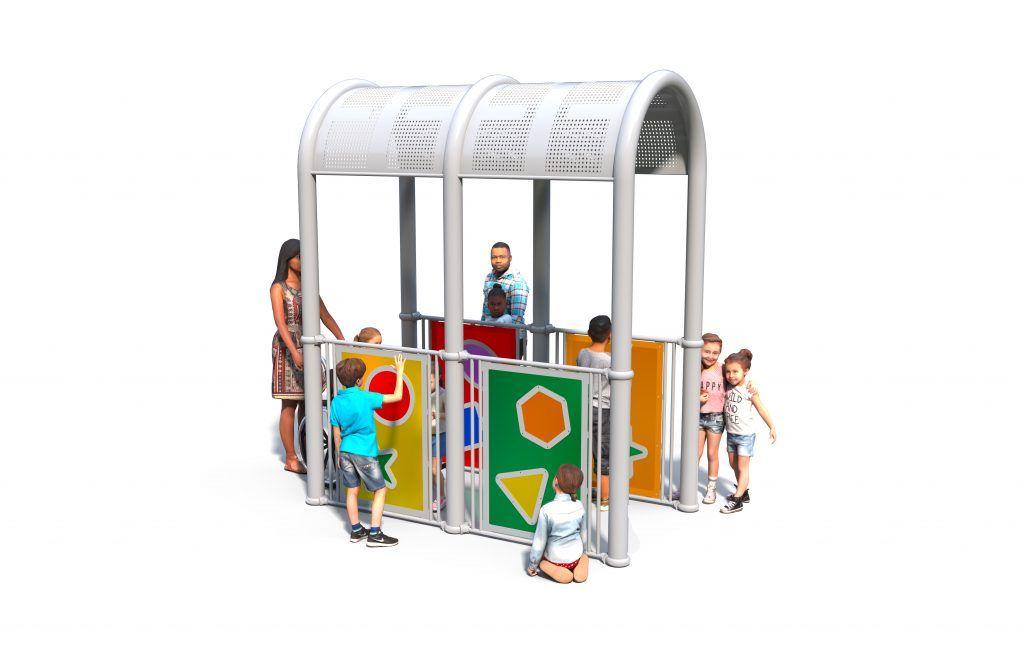 Sensory playground arch