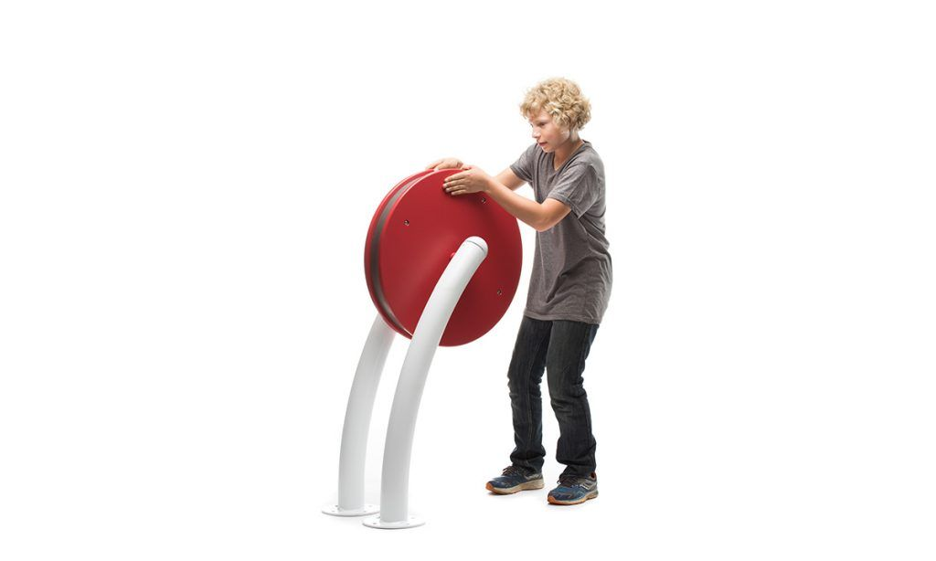 Large red concerto sensory play