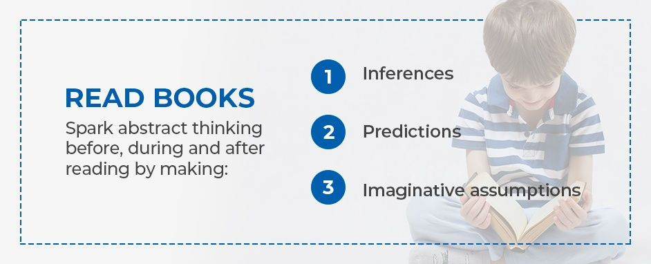 Spark Abstract Thinking By Reading Books