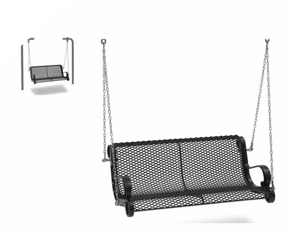 4' Swinging Bench with Chain - Diamond (MRSP300D)