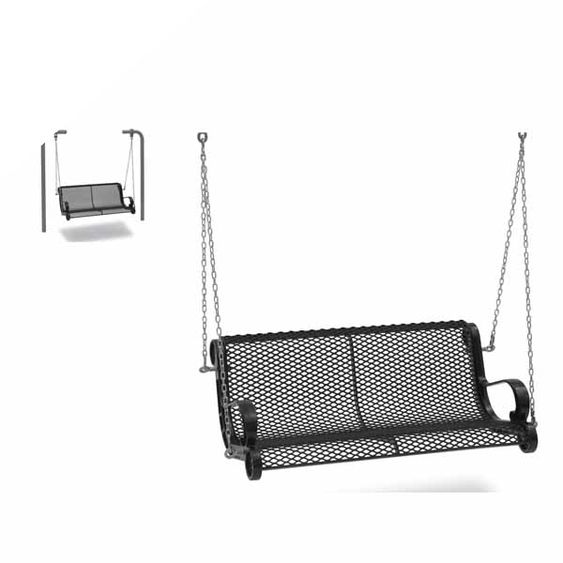 4' Swinging Bench with Chain - Diamond (MRSP300D)