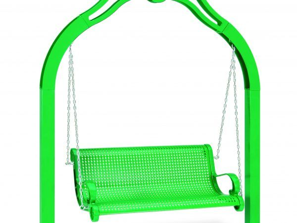 4' Swinging Bench with Chain - Perforated (MRSP300P)
