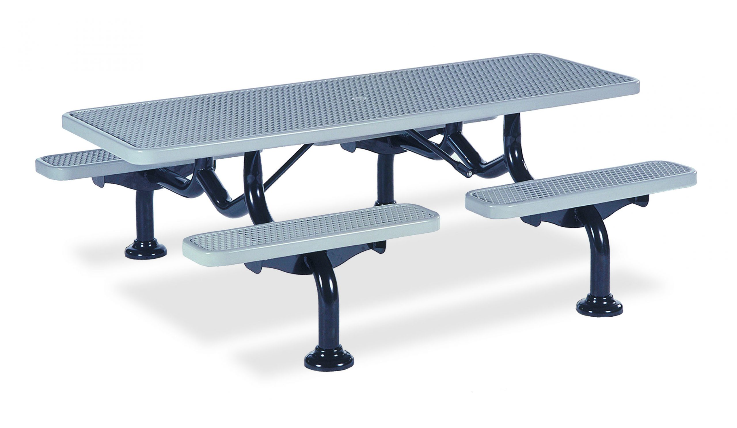 7' Individual Seat Table - Diamond - In-ground (MRSY225D)