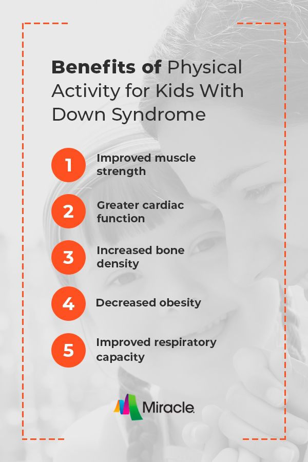 Benefits Of Physical Activity For Kids With Down Syndrome