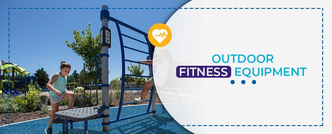 Outdoor fitness equipment for public parks