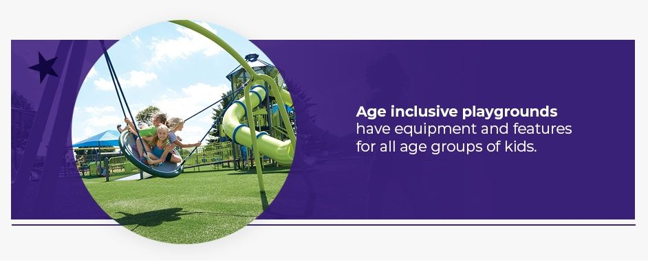 Age inclusive playgrounds
