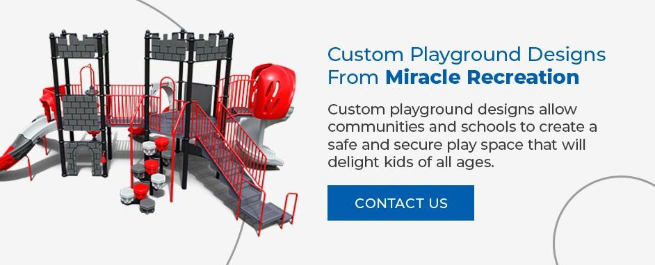 Contact Miracle Recreation for Custom Playground Designs