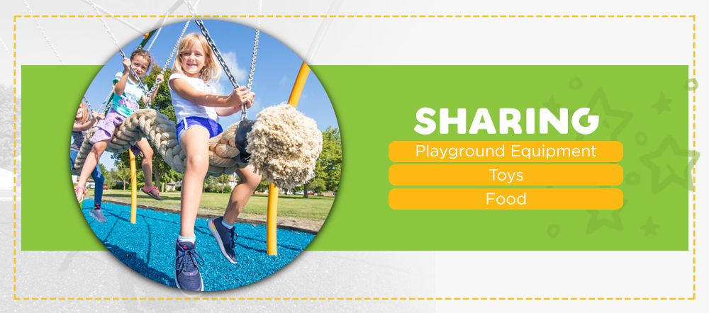 Sharing on the playground