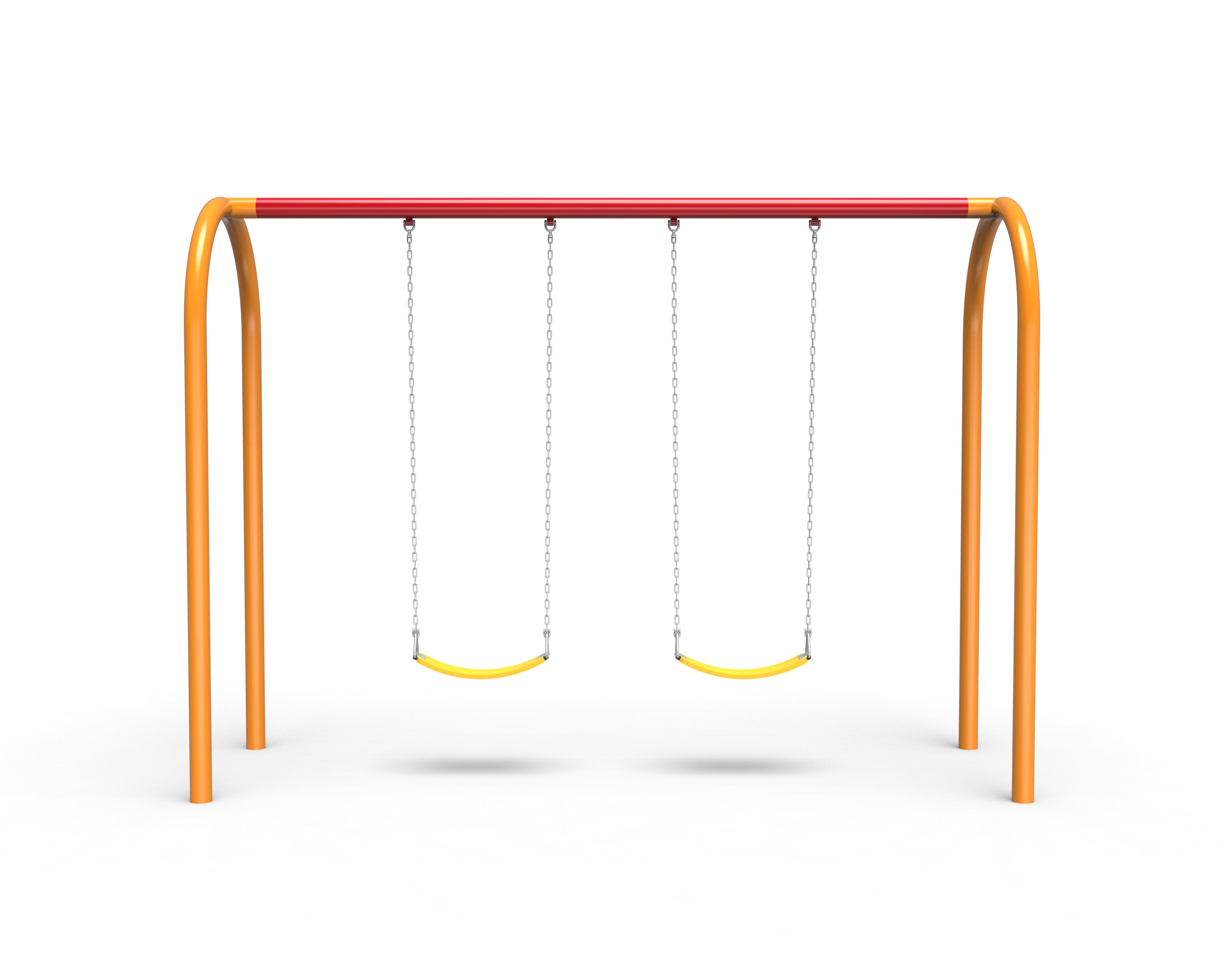 Arch Swings with 1-Bay, 2 Belt Seats (7188522SW)