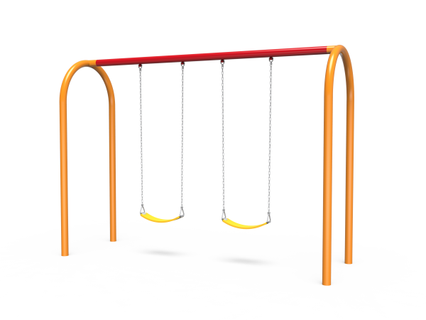 Arch Swings with 1-Bay, 2 Belt Seats (7188522SW)
