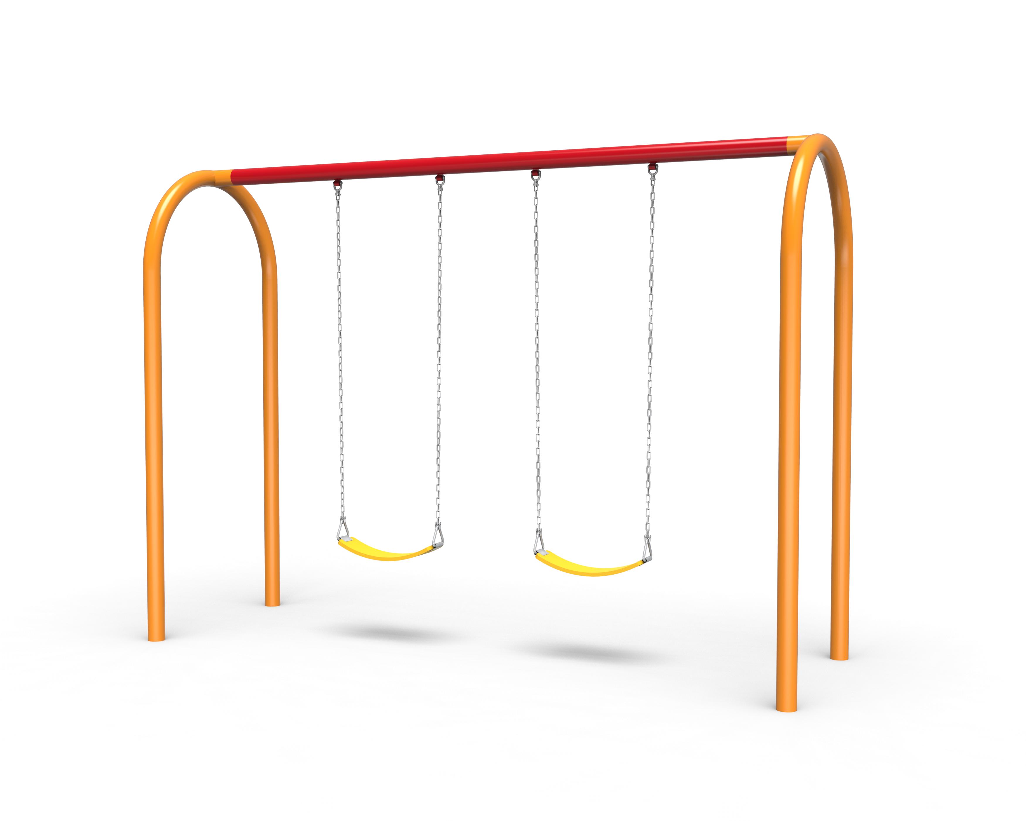 Tots Choice Arch Swing Set