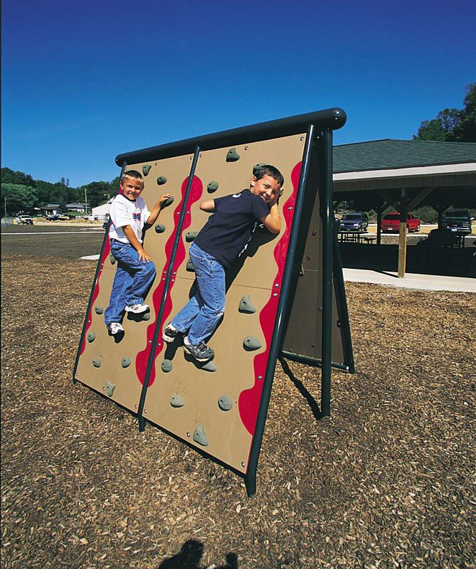 Rock Climbing Walls, Double Freestanding (757262)