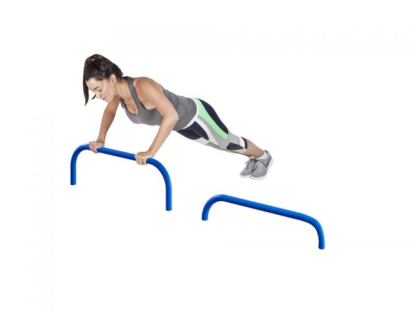 Outdoor push up equipment