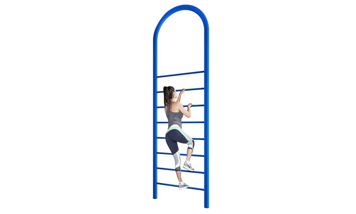 Outdoor vertical climb equipment