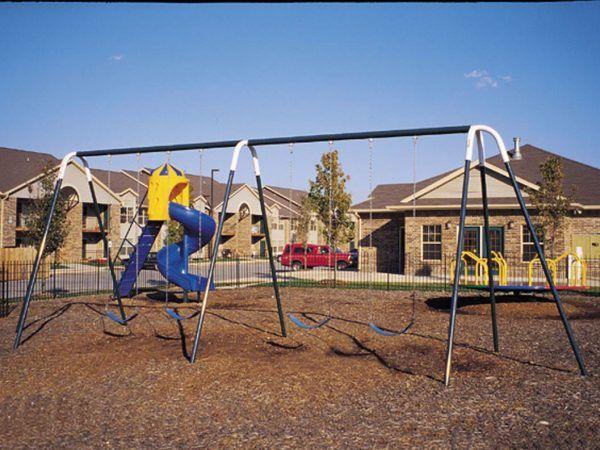 Heavy Duty Swings with 4 Belt Seats (Painted)