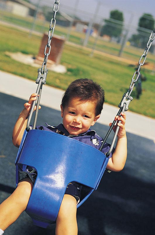 Baby and toddler swing