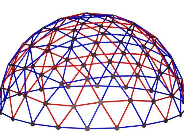 8' Geodesic Climber for Playgrounds