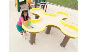 Clover Leaf Sand Box – (for no surfacing)