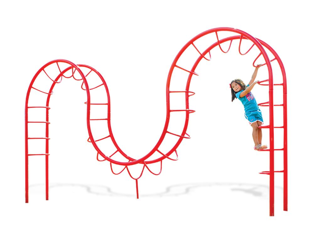 Double Camel Back Climber for Playgrounds
