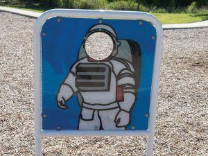 Astronaut / Alien Pretend Panel