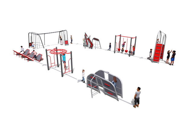 Fitness Challenge Course