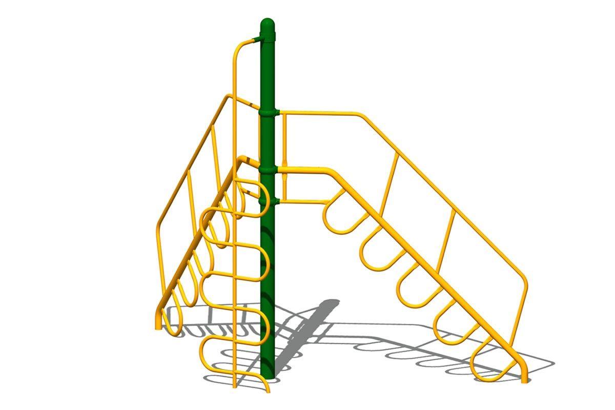 Peak Climber, 2-Way with Handrail, Add 1 Climber