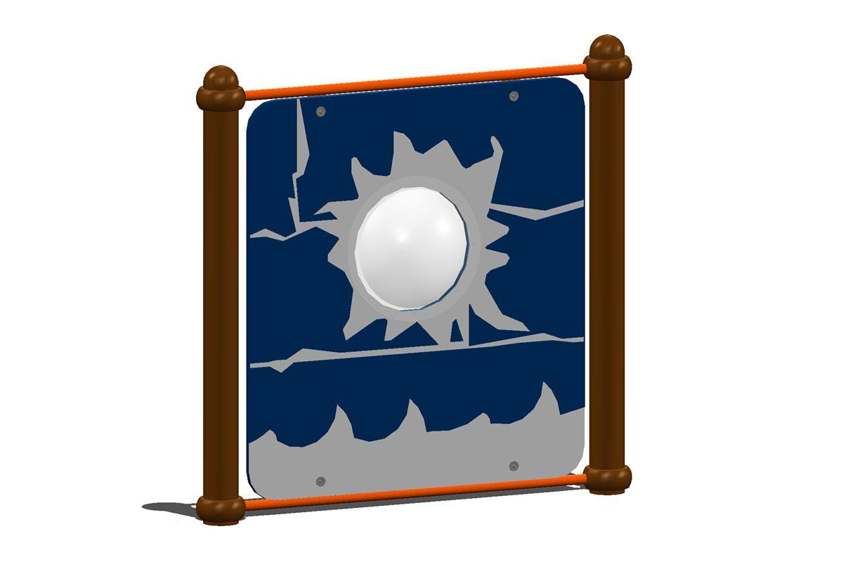 Ship's Cannonball Panel, Port