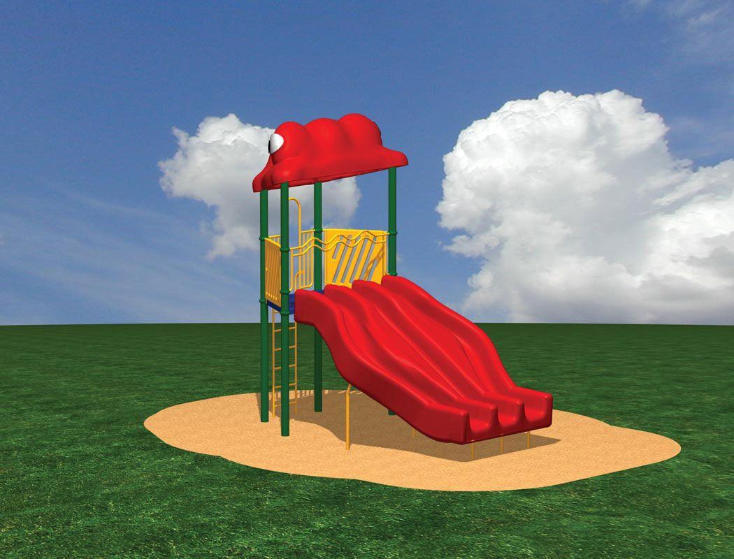 Flippo Freestanding Slide with Ladder