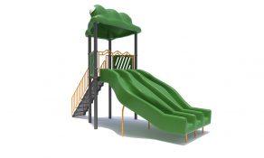 Flippo Freestanding Slide with PVC Steps