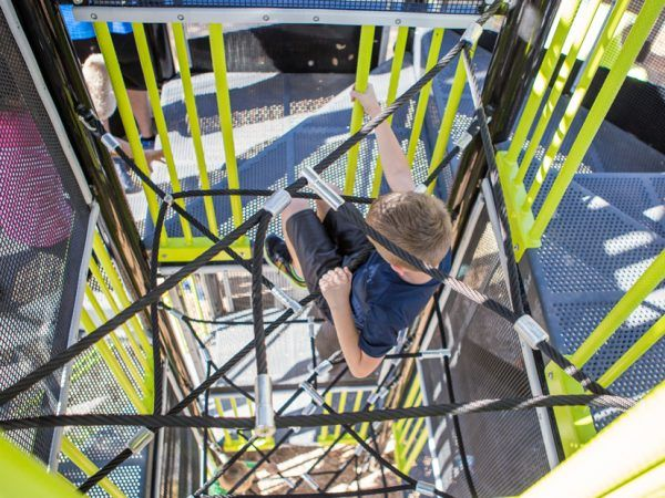 XGEN ADA Tower w/ Center Rope Climb
