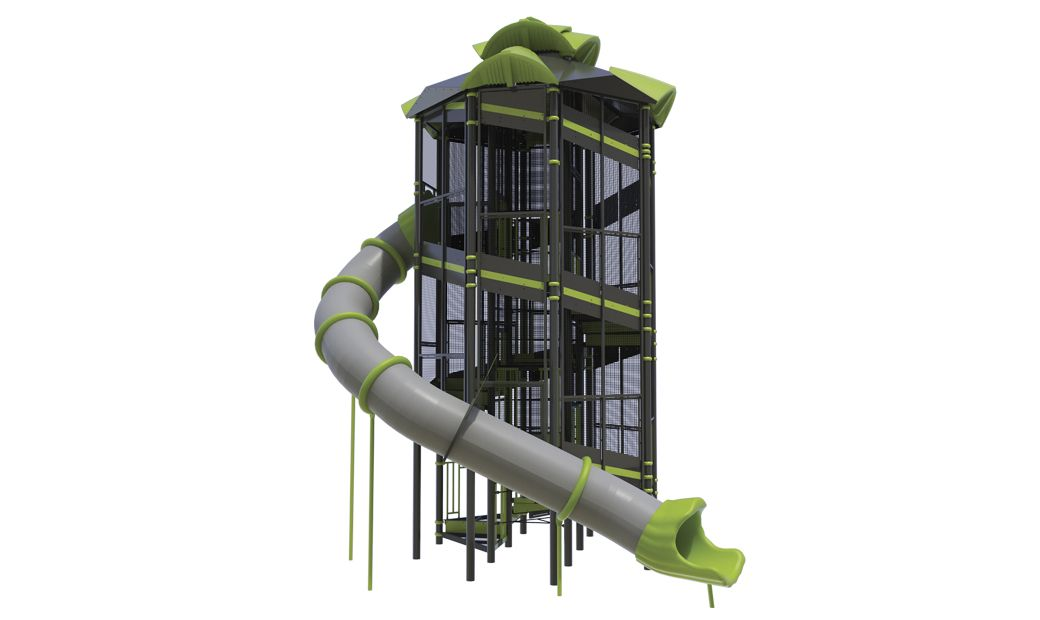 XGEN ADA Tower w/ Center Rope Climb