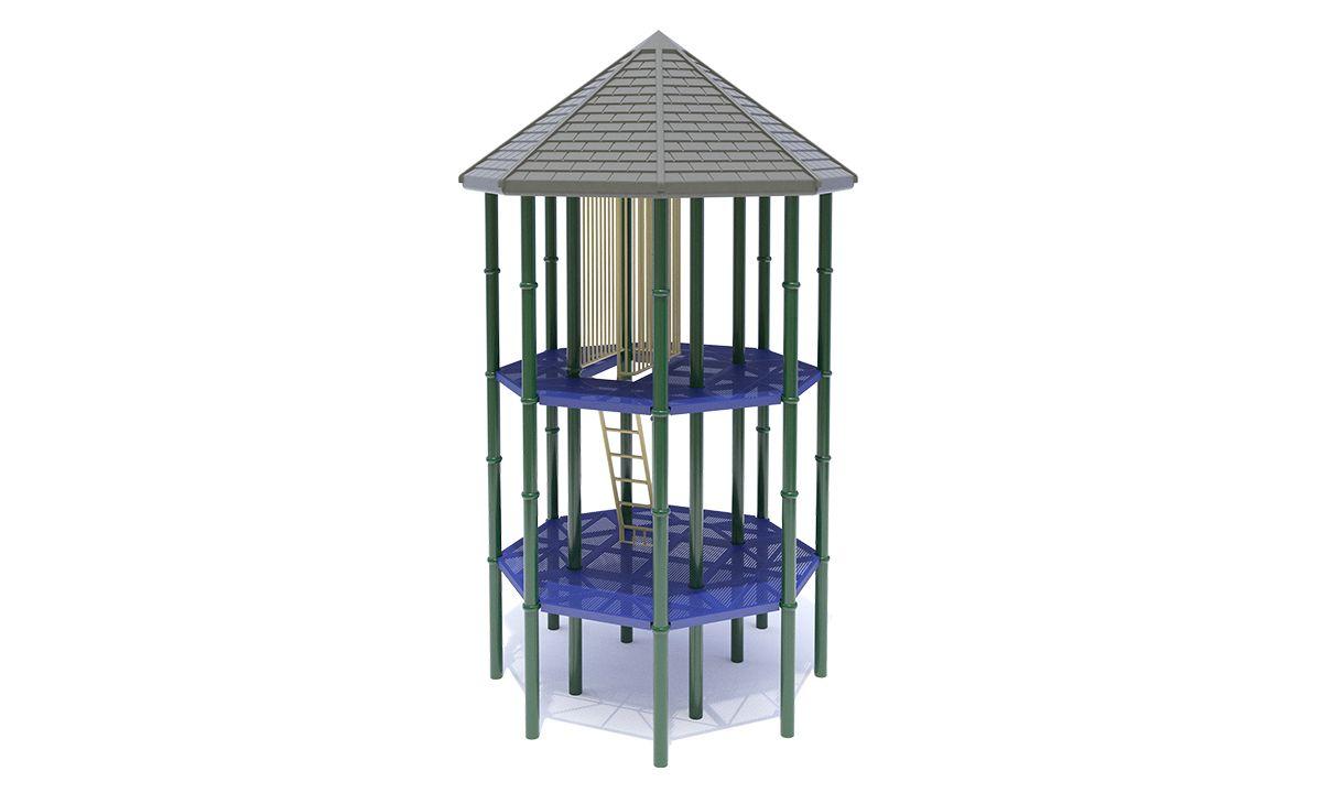 Octagon Mega Tower, 2 Deck Levels